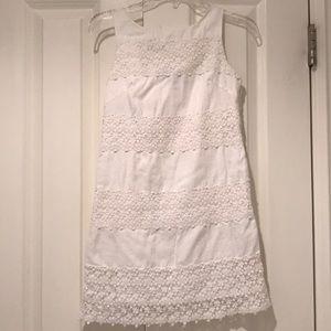 Girls RALPH LAUREN white cotton dress